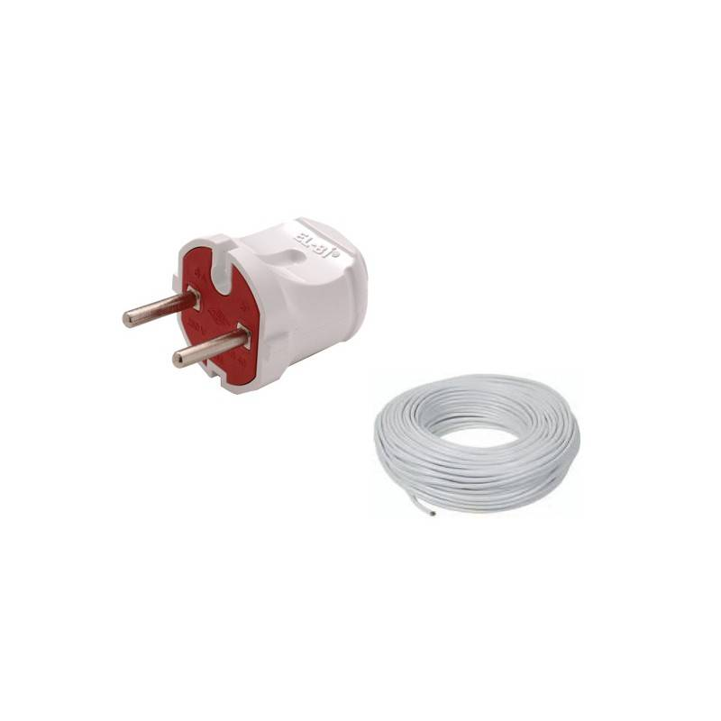 Poza Kit cablu electric si stecher pentru boilere electrice