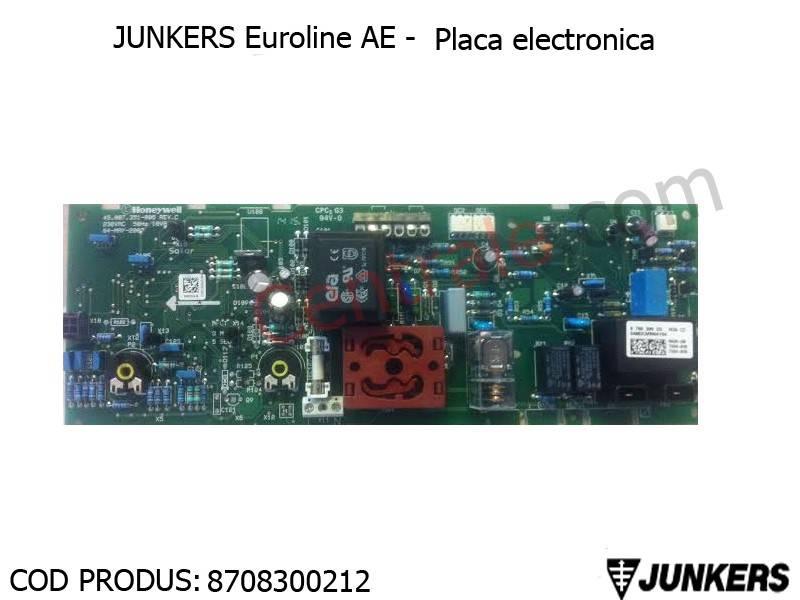 Poza Placa electronica gaze arse centrale termice Junkers Euroline