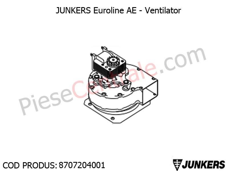 Poza Ventilator centrale termice Junkers Euroline AE