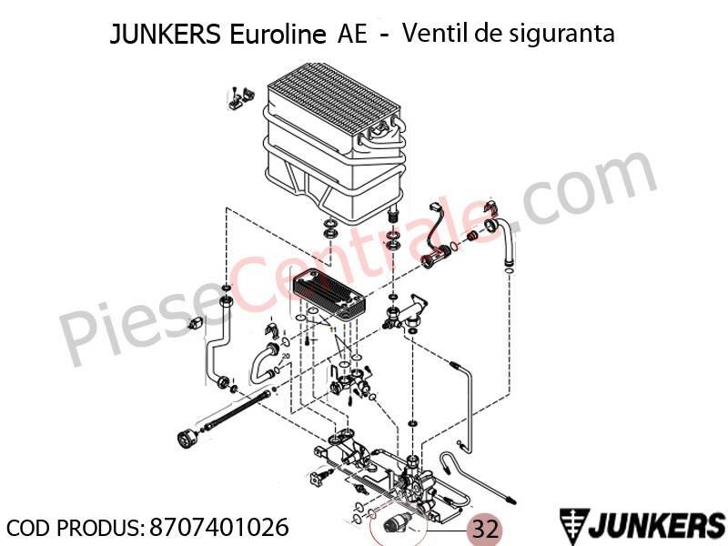 Poza Ventil de siguranta Junkers Euroline AE