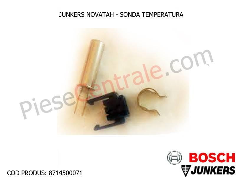 Poza Sonda temperatura centrala termica Junkers Novatah