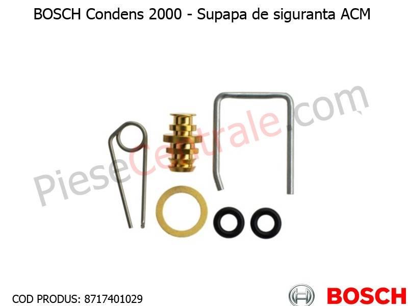 Poza Supapa de siguranta ACM centrala termica Bosch Condens 2000, Buderus Logamax Plus