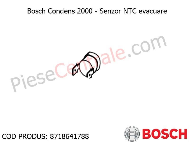 Poza Senzor NTC evacuare centrala termica Bosch Condens 2000, Buderus Logamax Plus