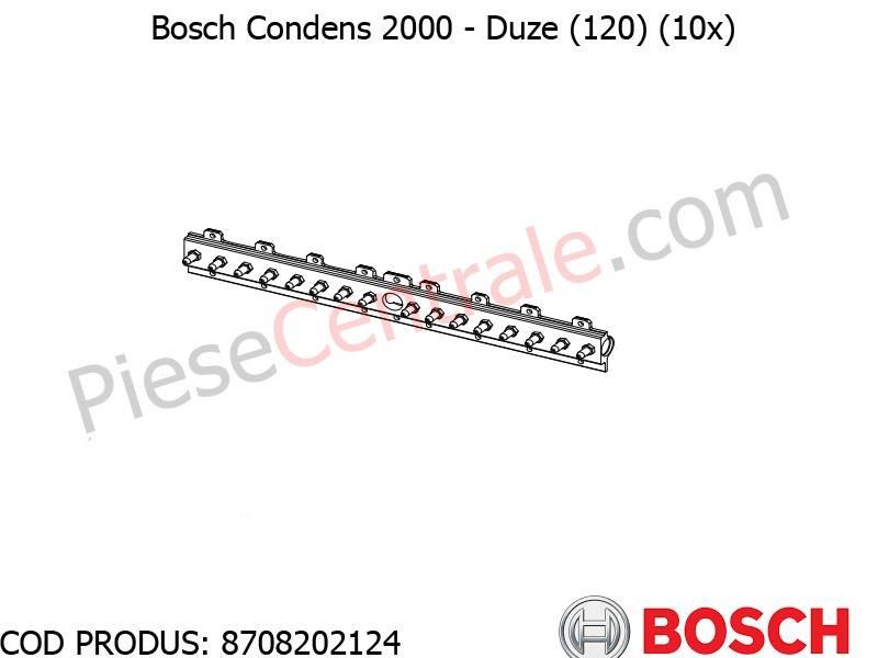 Poza Duze (120) (10x) centrala termica Bosch Condens 2000, Buderus Logamax Plus