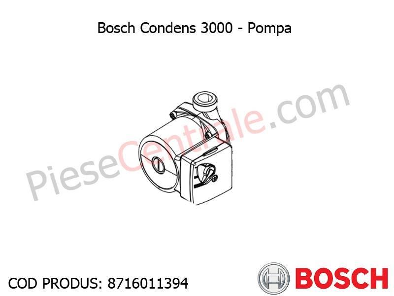 Poza Pompa centrala termica Bosch Condens 3000