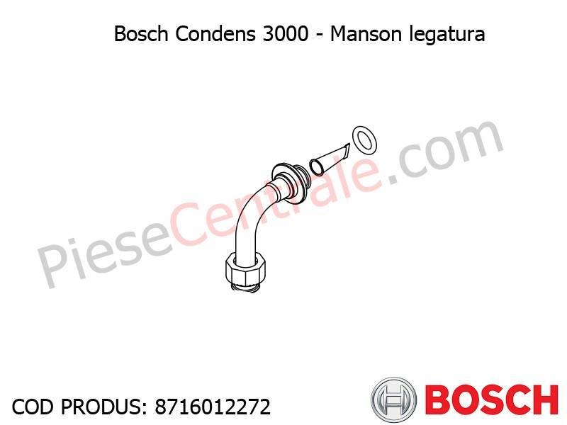 Poza  Manson legatura centrala termica Bosch Condens 3000