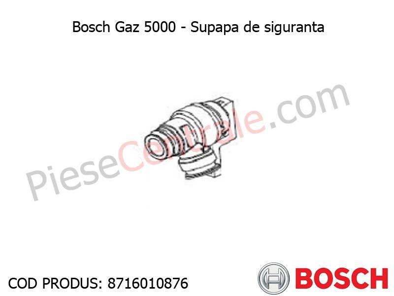 Poza Supapa de siguranta centrala termica Bosch Gaz 5000