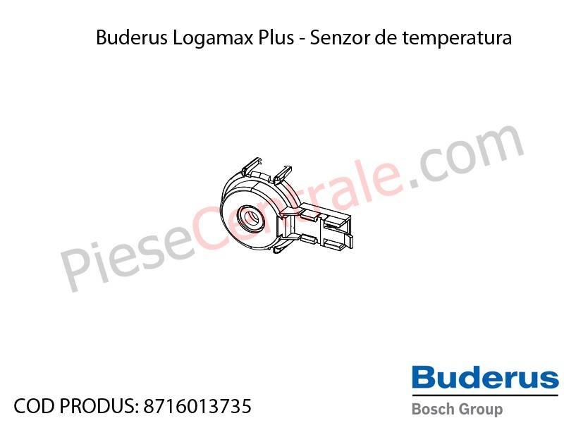 Poza Senzor de temperatura centrala termica Buderus Logamax Plus