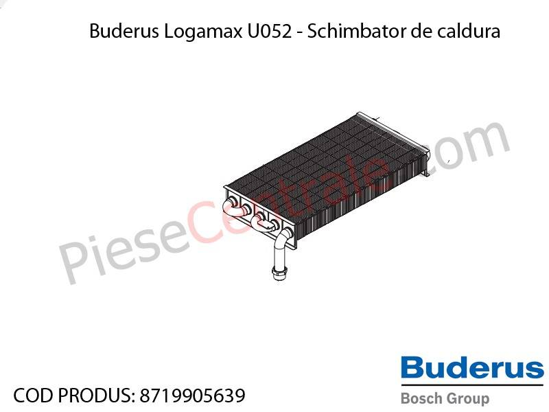 Poza Schimbator de caldura centrala termica Buderus Logamax U052