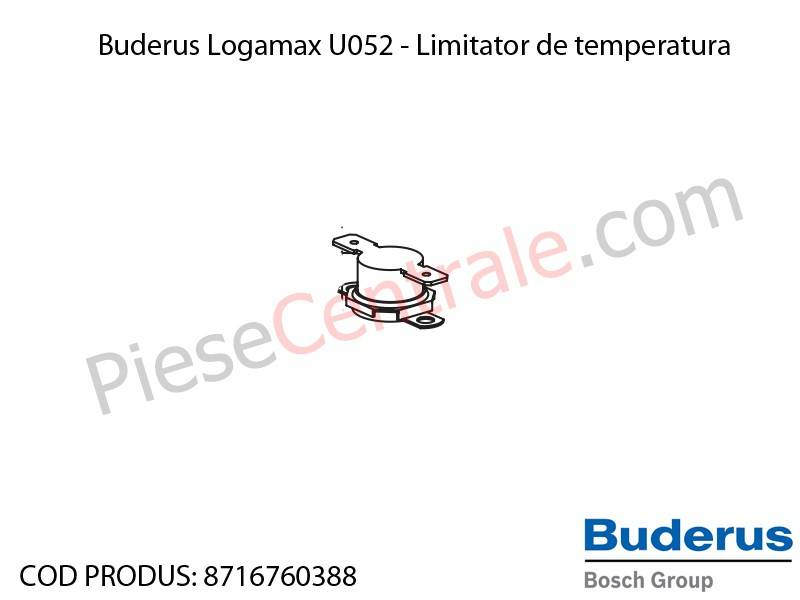 Poza Limitator de temperatura 110 grdC centrala termica Buderus Logamax U052