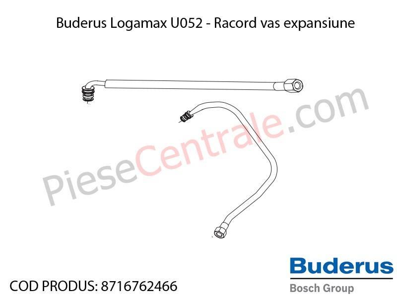 Poza Racord vas de expansiune centrala termica Buderus Logamax U052