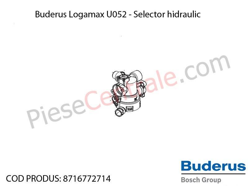 Poza Selector hidraulic centrala termica Buderus Logamax U052