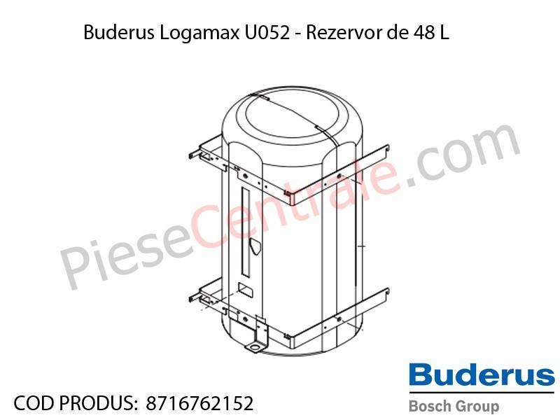 Poza Rezervor de 48 litri centrala termica Buderus Logamax U052