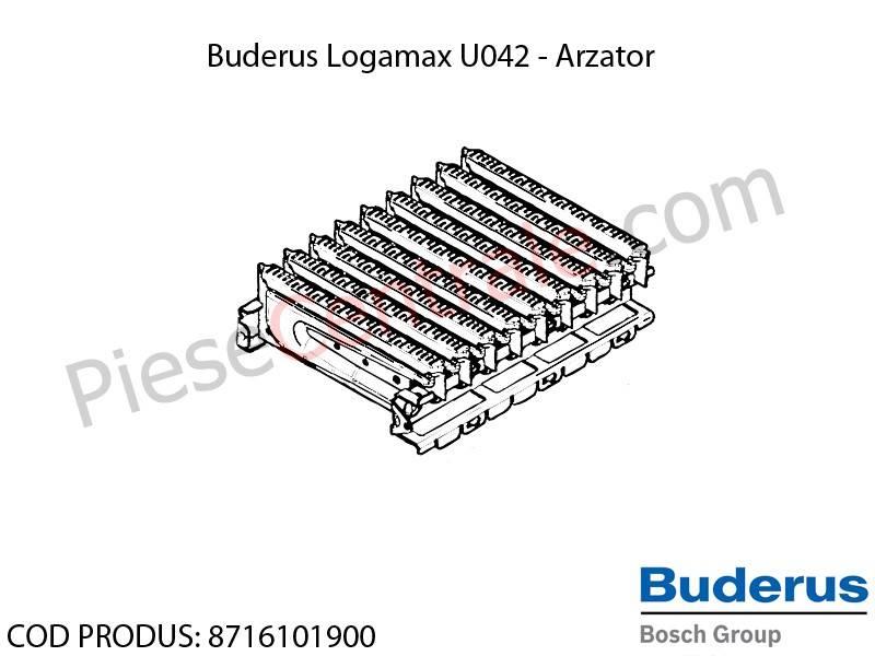 Poza Arzator centrala termica Buderus Logamax U042, Bosch Gaz 4000W