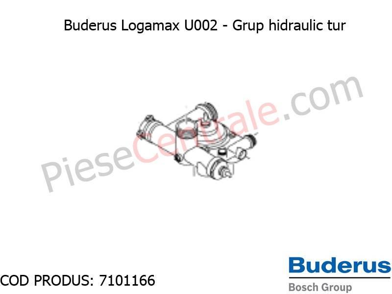 Poza Grup hidraulic centrala termica Buderus Logamax U002