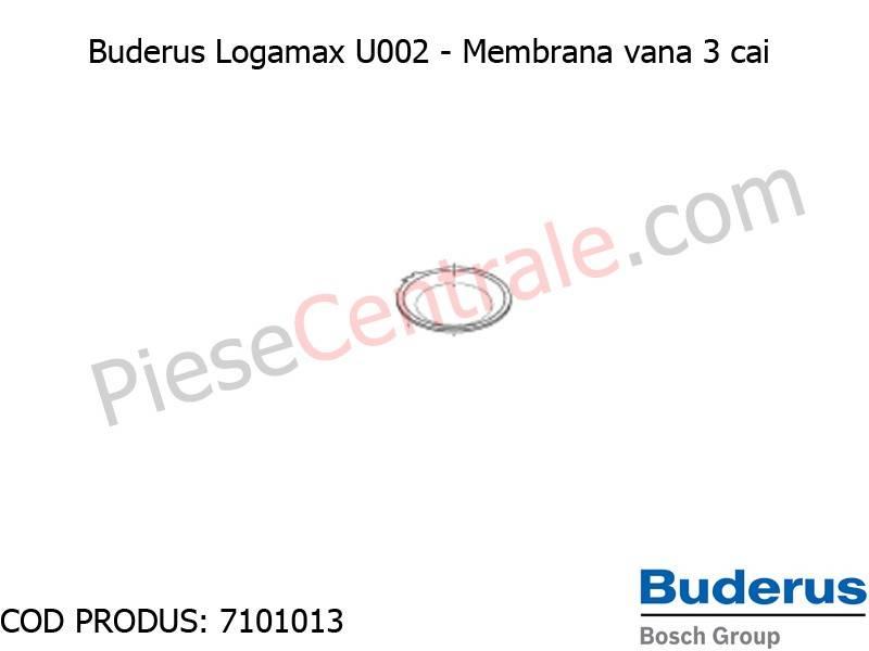 Poza Membrana vana cu 3 cai (x5) centrala termica Buderus Logamax U002