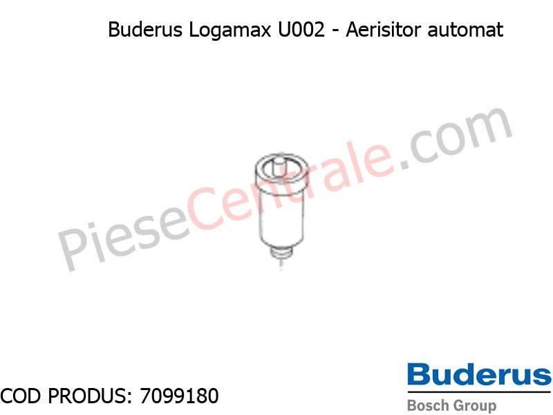 Poza Aeristitor automat centrala termica Buderus Logamax U002