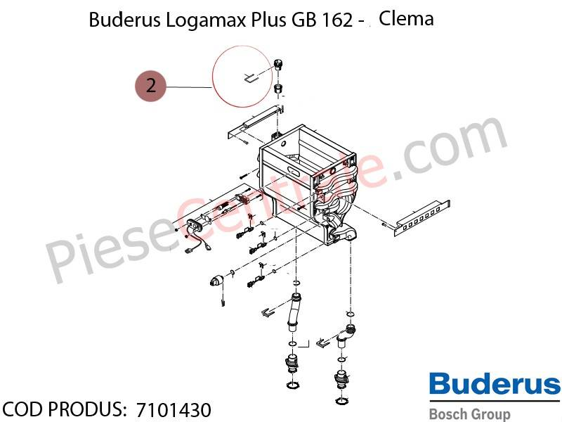 Poza  Clama centrala termica Buderus Logamax Plus GB 162