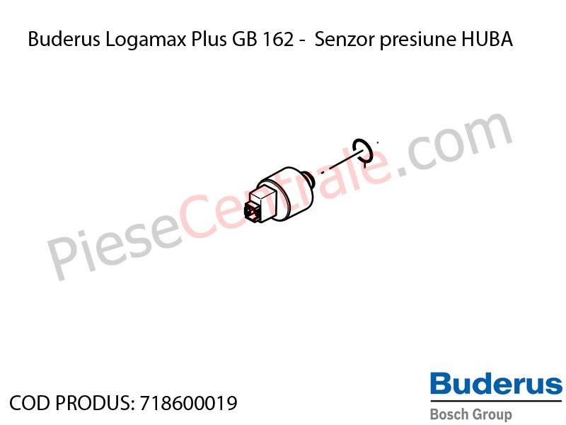 Poza Senzor presiune HUBA centrala termica Buderus Logamax Plus GB 162, Bosch Condens 5000W