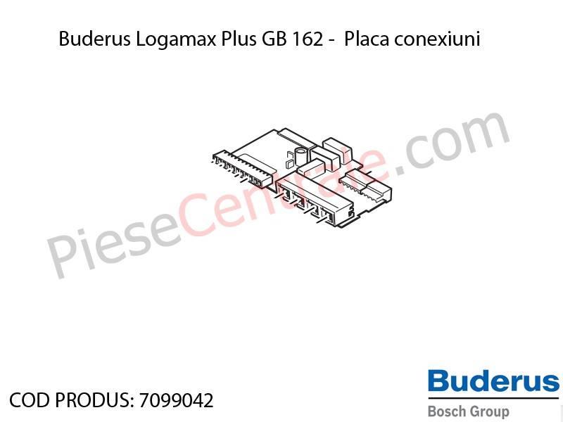 Poza Placa conexiuni centrala termica Buderus Logamax Plus GB 162