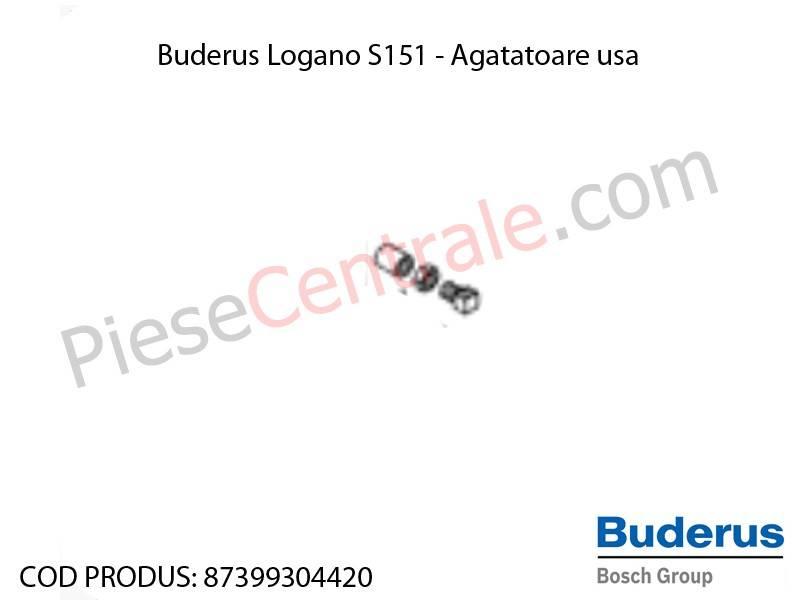 Poza Agatatoare usa centrala termica Buderus Logano S 151