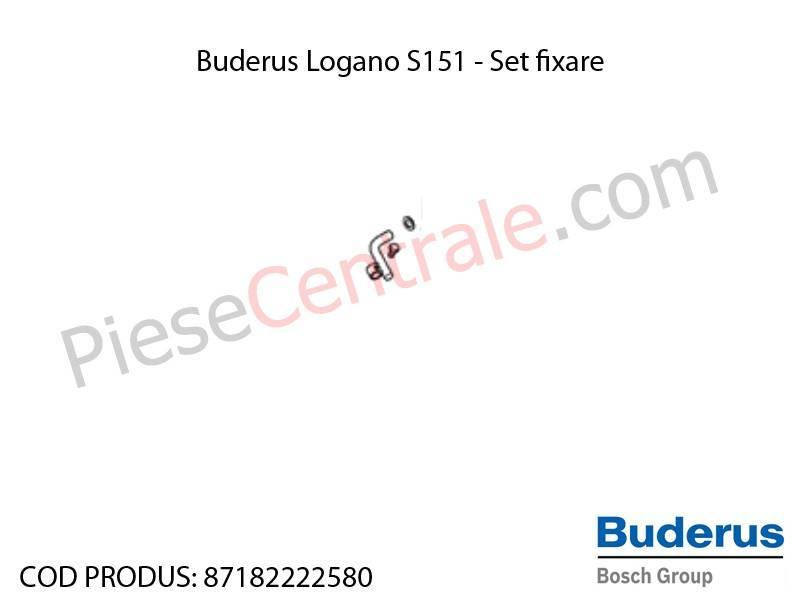 Poza Set fixare centrala termica Buderus Logano S 151