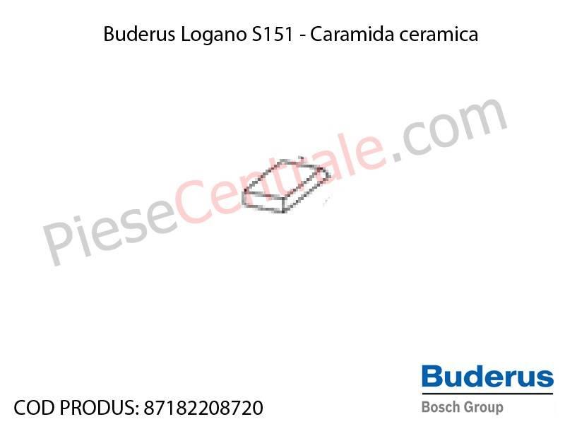 Poza Caramida ceramica centrala termica Buderus Logano S 151
