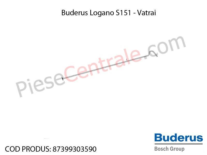 Poza Vatrai centrala termica Buderus Logano S 151