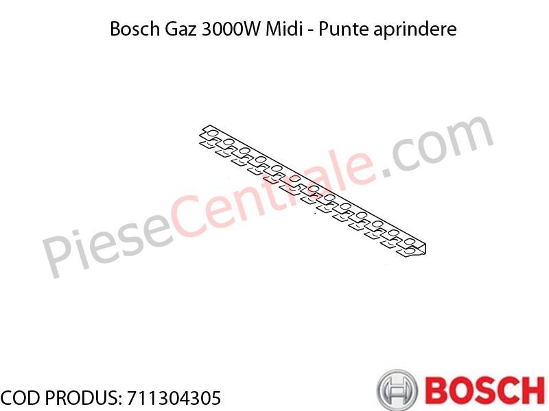 Poza Punte aprindere centrala termica Bosch Gaz 3000W Midi
