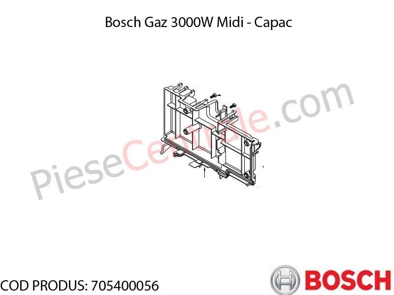 Poza Capac centrala termica Bosch Gaz 3000W Midi
