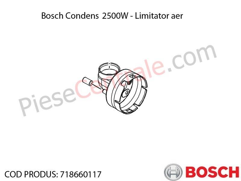 Poza Limitator aer centrala termica Bosch Condens 2500W