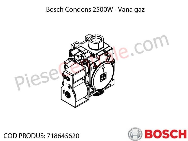 Poza  Vana gaz centrala termica Bosch Condens 2500W
