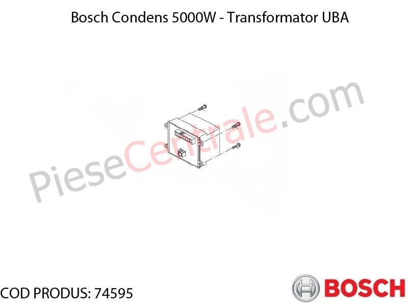 Poza Transformator UBA centrala termica Bosch Condens 5000W