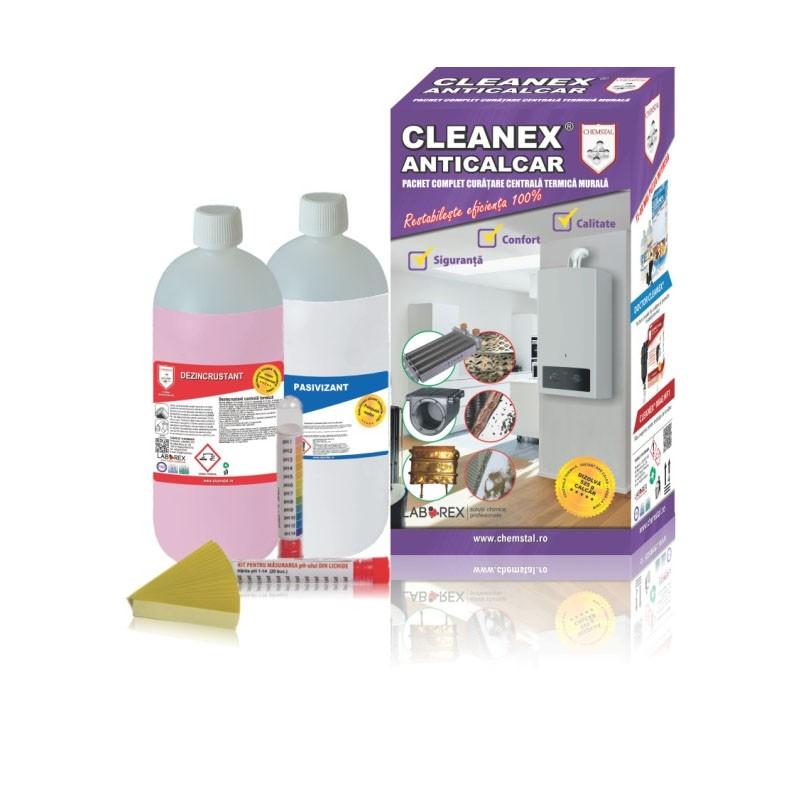 Poza Pachet de curatare pentru centrale termice Cleanex Anticalcar. Poza 8069
