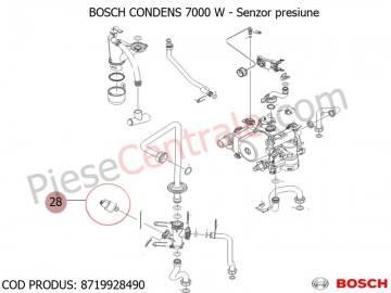 Poza Senzor presiune centrale termice Bosch Condens 7000 W