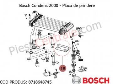 Poza Presostat de apa centrala termica Bosch Condens 2000, Bosch Gaz 4000W, Buderus Logamax U042