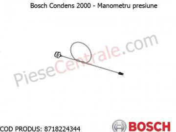 Poza Manometru presiune centrala termica Bosch Condens 2000, Condens 3000, Gaz 5000