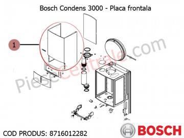 Poza Placa frontala centrala termica Bosch Condens 3000