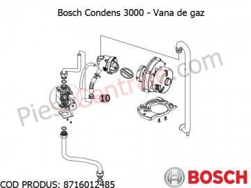 Poza Vana gaz centrala termica Bosch Condens 3000