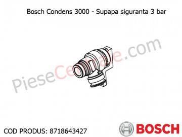 Poza Supapa siguranta 3 bar centrala termica Bosch Condens 3000