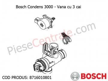 Poza Vana cu 3 cai centrala termica Bosch Condens 3000