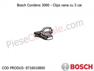 Poza Clips vana cu 3 cai centrala termica Bosch Condens 3000