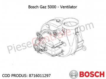 Poza Ventilator centrala termica Bosch Gaz 5000