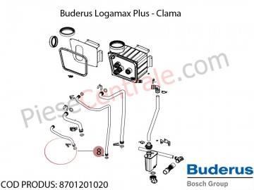 Poza Clama (10x) centrala termica Buderus Logamax Plus