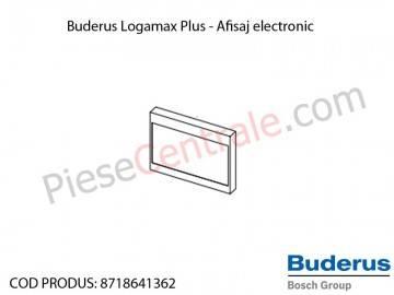 Poza Afisaj electronic centrala termica Buderus Logamax Plus