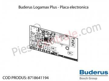 Poza Placa electronica centrala termica Buderus Logamax Plus