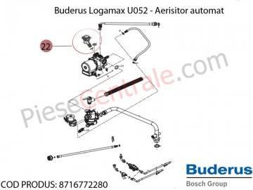 Poza Aerisitor automat termica Buderus Logamax U052