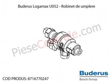 Poza Robinet de umplere centrala termica Buderus Logamax U052