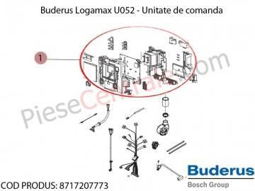 Poza Unitate de comanda centrala termica Buderus Logamax U052