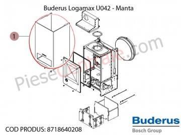 Poza Manta centrala termica Buderus Logamax U042